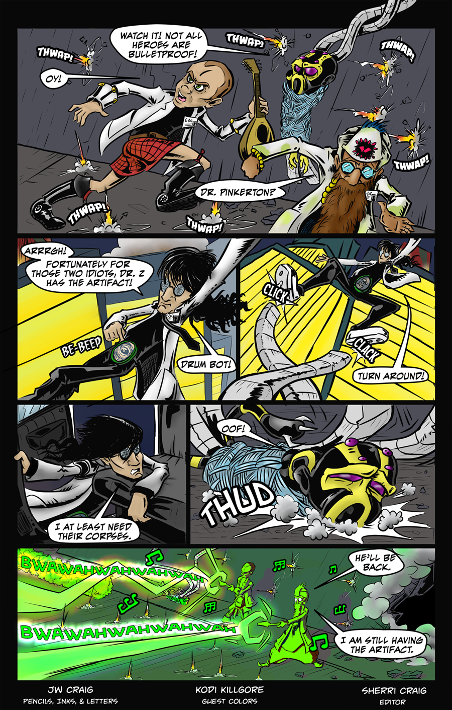Page 23 With Colors by Guest Artist, Kodi Killgore